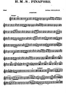 Complete Opera: Oboe part by Arthur Seymour Sullivan