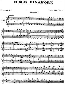 Complete Opera: Clarinets part by Arthur Seymour Sullivan