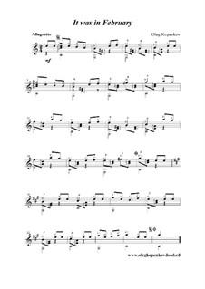 It was in February, Op.6: It was in February by Oleg Kopenkov