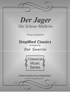 No.14 Der Jäger (The Hunter): For piano by Franz Schubert