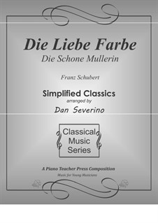 No.16 Die liebe Farbe (The Beloved Colour): For piano by Franz Schubert