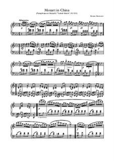 Rondo Alla China: Rondo Alla China by Wolfgang Amadeus Mozart, Roman Burmatov