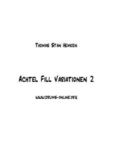 Achtel Fills 1 - Material Drumlesson - Schlagzeugunterricht: Achtel Fills 1 - Material Drumlesson - Schlagzeugunterricht by Thomas Stan Hemken