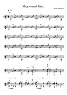 Медленный блюз: Медленный блюз by Konstantin Schenitsyn