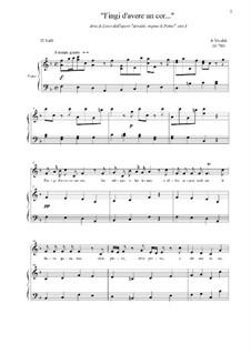 Arsilda regina di Ponto: Aria di Lisea, atto I by Antonio Vivaldi