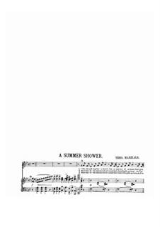 A Summer Shower: A Summer Shower by Theo Marzials