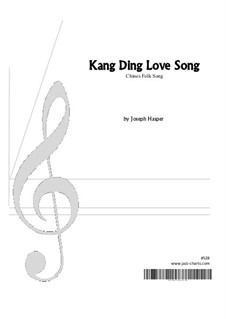 Kang Ding Love Song: For ensemble instruments by folklore