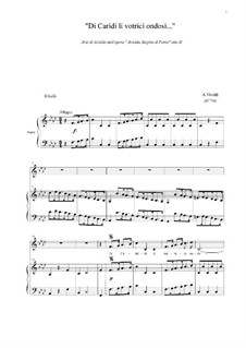 Arsilda regina di Ponto: Aria di Lisea 'Di Cariddi li vortici ondosi', atto III by Antonio Vivaldi