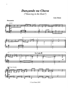 Dançando na Chuva (Dancing in the Rain): Dançando na Chuva (Dancing in the Rain) by Luiz Simas