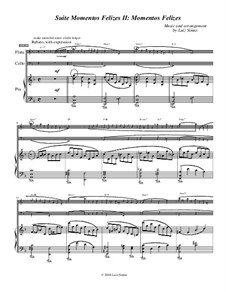 Momentos Felizes Suite: Part II - 'Momentos Felizes' - full trio score by Luiz Simas