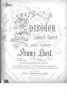 Two Episodes from Lenau's Faust, for Piano Four Hands, S.599: No.1 Midnight Procession by Franz Liszt