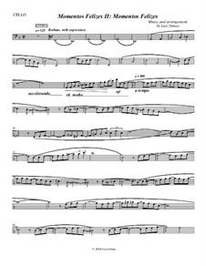 Momentos Felizes Suite: Part II - 'Momentos Felizes' - cello part by Luiz Simas