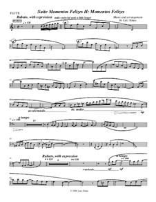 Momentos Felizes Suite: Part II - 'Momentos Felizes' - flute part by Luiz Simas