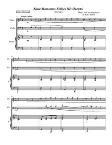 Momentos Felizes Suite: Part III - 'Óxente' - full trio score by Luiz Simas