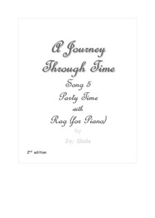 A Journey Through Time (2nd edition): No.05 - Party Time and Rag (for Piano) by Joy Slade