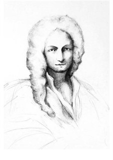 Concerto for Strings in D Major, RV 123: Score and parts by Antonio Vivaldi
