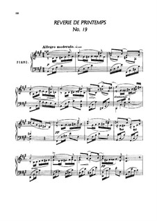 Twenty-Four Characteristic Pieces, Op.36: No.19-24 by Anton Arensky