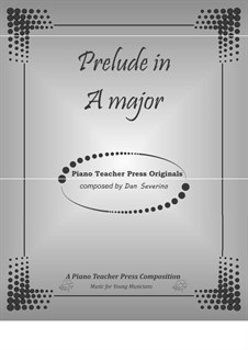 Prelude in A major: Prelude in A major by Dan Severino