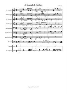A Swenglish Fanfare: A Swenglish Fanfare by Gregory Machin