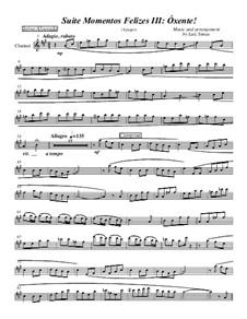 Momentos Felizes Suite: Part III - 'Óxente' - clarinet part by Luiz Simas
