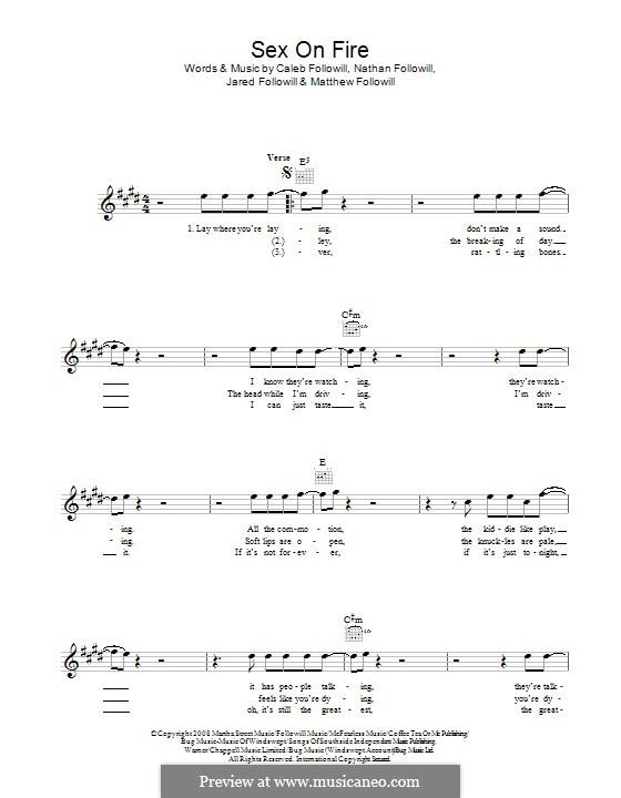 Lyrics and chords