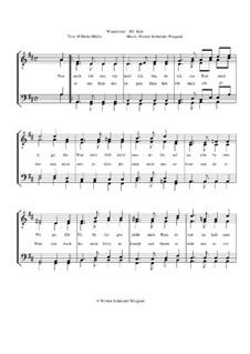 Winterreise, Op.23: Nr.31 Rast by Werner Schneider-Wiegand