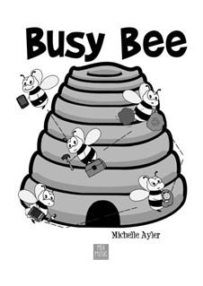 Busy Bee (Beginner Piano Solo): Busy Bee (Beginner Piano Solo) by MEA Music