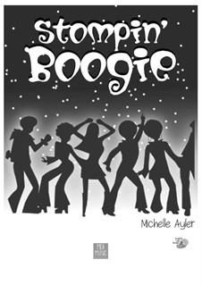 Stompin' Boogie (Beginner Piano Suite): Stompin' Boogie (Beginner Piano Suite) by MEA Music