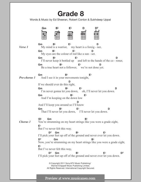 Grade 8: For ukulele by Ed Sheeran, Robert Conlon, Sukhdeep Uppal
