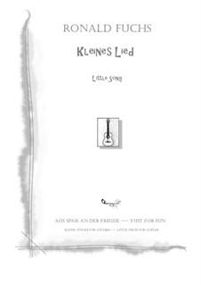 Little Song: Little Song by Ronald Fuchs