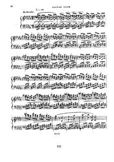 Six suites d'etudes pour le pianoforte, Op.15: Suite VI by Ferdinand von Hiller