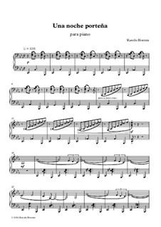 Una noche porteña: For piano by Karolis Biveinis