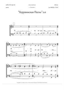 Cherubic Hymn 2.0 + Litany (in Russian): Cherubic Hymn 2.0 + Litany (in Russian) by Rada Po