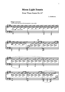 Movement I: For a single performer by Ludwig van Beethoven