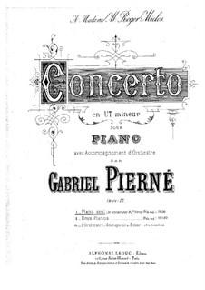 Piano Concerto in C Minor, Op.12: Piano Concerto in C Minor by Gabriel Pierné