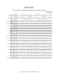 Dream Dances - Orchestral Suite - C.PiqueDame: Movement I Longing (Tango) – score, Op.040411 by Carmen Hoyer