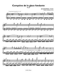 Comptine de la glace fondante (No.8): Comptine de la glace fondante (No.8) by Jeremiah Oliver