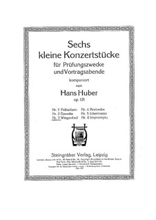 Six Little Concert Pieces, Op.131: No.3 Lullaby by Hans Huber