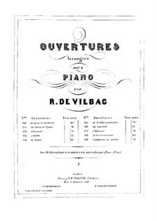 Jovan of Finland. Overture, Op.43: For piano by Johann Nepomuk Hummel