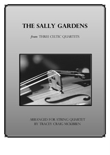 Down By the Sally Gardens: For string quartet by folklore