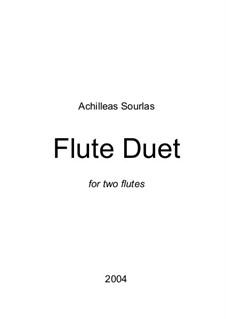 Flute Duet: Flute Duet by Achilleas Sourlas