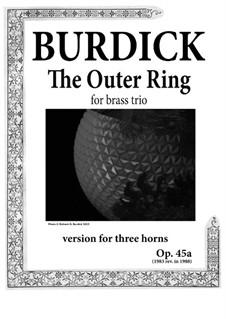 The Middle Ring: For three horns, Op.45a by Richard Burdick