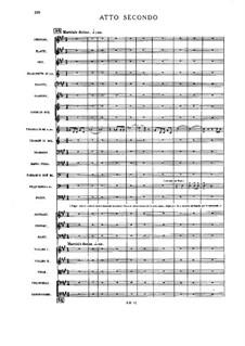 Pagliacci: Act II, scene Ia by Ruggero Leoncavallo