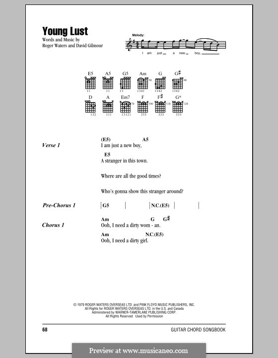 Attractive Pink Floyd Guitar Chords Ensign - Beginner Guitar Piano ...