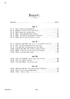 Undine: Arrangement for piano by Albert Lortzing