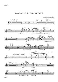 Adagio for Orchestra: Parts by Nancy Van de Vate