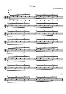 Этюд ля минор (на голосоведение в басовом голосе): Этюд ля минор (на голосоведение в басовом голосе) by Konstantin Schenitsyn