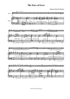The face of love: For flute and piano by David W Solomons