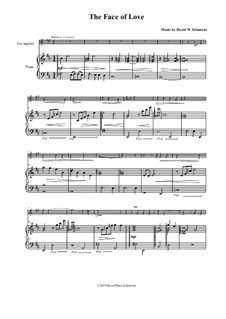 The face of love: For cor anglais and piano by David W Solomons