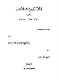LuKamälOrdEon (2003): LuKamälOrdEon (2003) by Franz Ferdinand Kaern